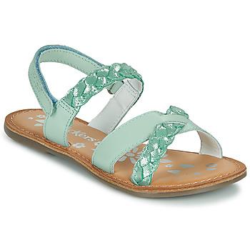 Schoenen Meisjes Sandalen / Open schoenen Kickers DIMDAMI Blauw
