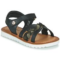 Schoenen Meisjes Sandalen / Open schoenen Kickers BETTYL Zwart