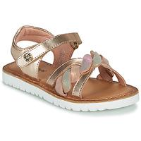 Schoenen Meisjes Sandalen / Open schoenen Kickers BETTYL Roze