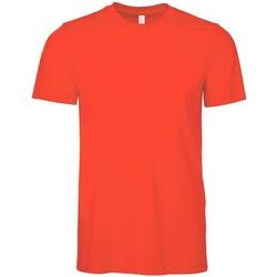 Textiel T-shirts korte mouwen Bella + Canvas CV3001 Poppy