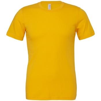 Textiel T-shirts korte mouwen Bella + Canvas CV3001 Goud