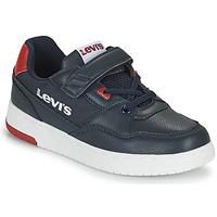 Schoenen Jongens Lage sneakers Levi's SHOT Marine
