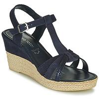 Schoenen Dames Sandalen / Open schoenen Marco Tozzi ANNA Marine