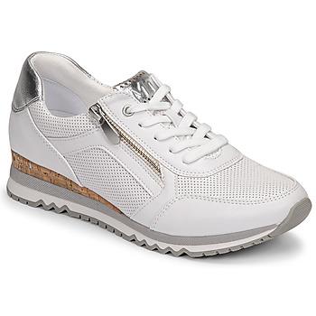 Schoenen Dames Lage sneakers Marco Tozzi BELLA Wit