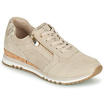 Schoenen Dames Lage sneakers Marco Tozzi DORIANE Beige