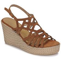 Schoenen Dames Sandalen / Open schoenen Marco Tozzi FRANCINE Cognac