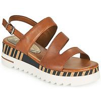 Schoenen Dames Sandalen / Open schoenen Marco Tozzi ANTINI Cognac