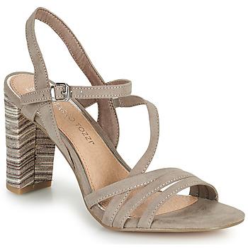 Schoenen Dames Sandalen / Open schoenen Marco Tozzi BALEINA Beige