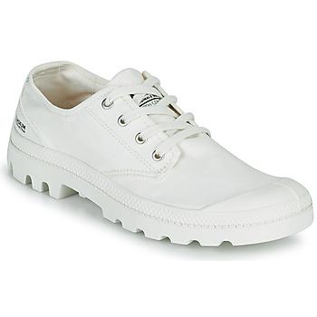 Schoenen Lage sneakers Palladium PAMPA OX ORGANIC II Wit
