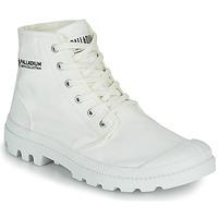 Schoenen Laarzen Palladium PAMPA HI ORGANIC II Wit