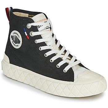 Schoenen Hoge sneakers Palladium PALLA ACE CVS MID Zwart / Wit