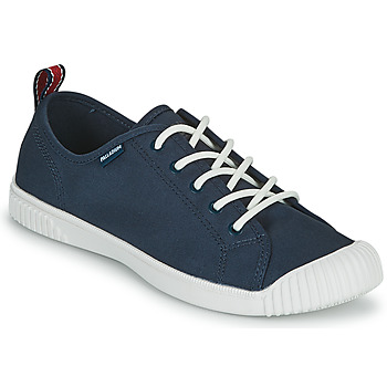 Schoenen Dames Lage sneakers Palladium EASY LACE Marine