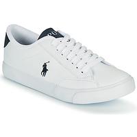 Schoenen Kinderen Lage sneakers Polo Ralph Lauren THERON IV Wit / Marine