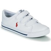 Schoenen Kinderen Lage sneakers Polo Ralph Lauren ELMWOOD EZ Wit
