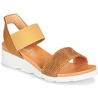 Schoenen Dames Sandalen / Open schoenen Felmini DARA Bruin / Beige