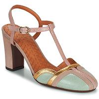 Schoenen Dames pumps Chie Mihara INMA Beige / Roze / Goud