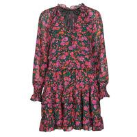 Textiel Dames Korte jurken Moony Mood  Zwart / Roze