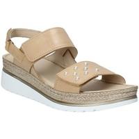 Schoenen Dames Sandalen / Open schoenen Melluso 019080F Bruin