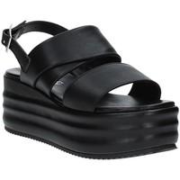 Schoenen Dames Sandalen / Open schoenen Grace Shoes SAMI Zwart