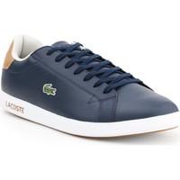 Schoenen Heren Lage sneakers Lacoste Graduate LCR3 118 1 SPM 7-35SPM00134C1 navy , brown
