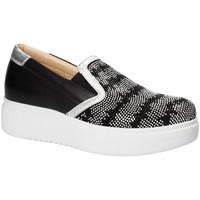 Schoenen Dames Instappers Exton E02 Zwart