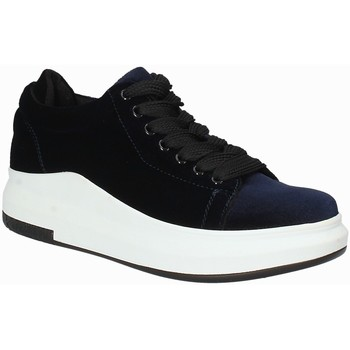 Schoenen Dames Lage sneakers Exé Shoes F17006688206 Blauw