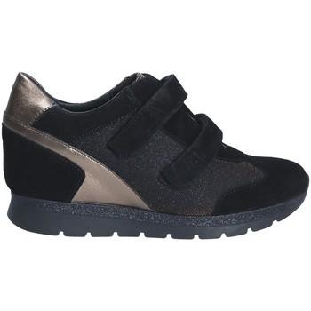 Schoenen Dames Lage sneakers Keys 7079 Zwart
