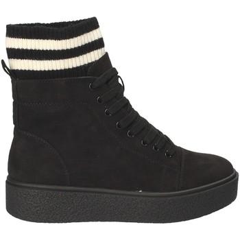 Schoenen Dames Hoge sneakers Fornarina PI18HR1128S000 Zwart