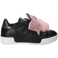 Schoenen Dames Lage sneakers Janet Sport 42730 Zwart