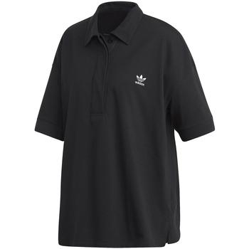 Textiel Dames Polo's korte mouwen adidas Originals FM2619 Zwart