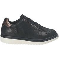 Schoenen Meisjes Derby Geox J744FA 00077 Zwart