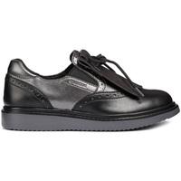 Schoenen Meisjes Mocassins Geox J844FE 054AJ Zwart