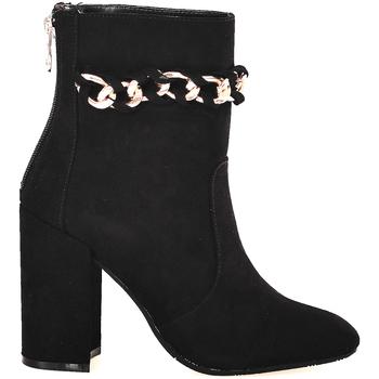 Schoenen Dames Enkellaarzen Gattinoni PINOD0784W Zwart