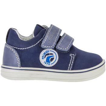 Schoenen Jongens Lage sneakers Primigi 7538 Blauw