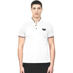 Textiel Heren Polo's korte mouwen Antony Morato MMKS01467 FA100083 Wit