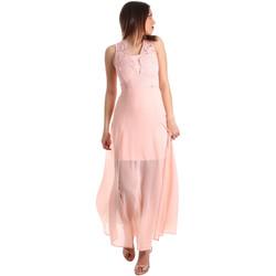 Textiel Dames Lange jurken Gaudi 911FD15004 Roze