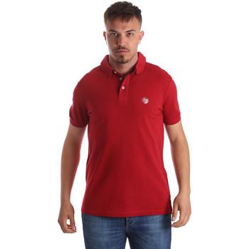 Textiel Heren Polo's korte mouwen Gaudi 911BU64063 Rood