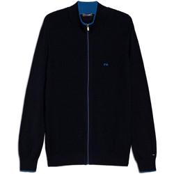 Textiel Heren Vesten / Cardigans NeroGiardini E074560U Blauw