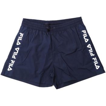 Textiel Heren Zwembroeken/ Zwemshorts Fila 687744 Blauw