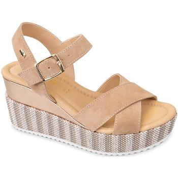 Schoenen Dames Sandalen / Open schoenen Valleverde 32435 Beige