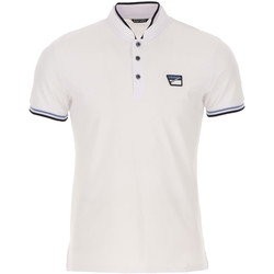 Textiel Heren Polo's korte mouwen Antony Morato MMKS01691 FA100083 Wit