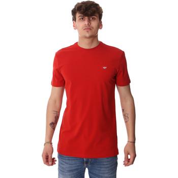 Textiel Heren T-shirts korte mouwen Antony Morato MMKS01737 FA120022 Rood