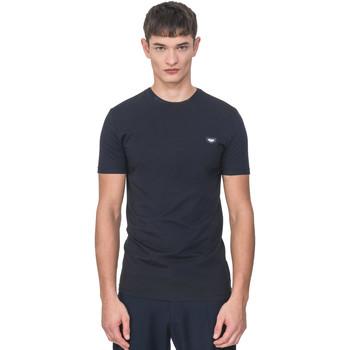 Textiel Heren T-shirts korte mouwen Antony Morato MMKS01737 FA120022 Blauw