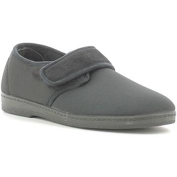 Schoenen Heren Sloffen Susimoda 5605 Zwart