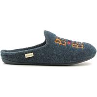 Schoenen Heren Sloffen Grunland CI1073 Blauw