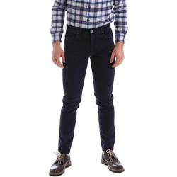 Textiel Heren 5 zakken broeken Sei3sei 02396 Blauw