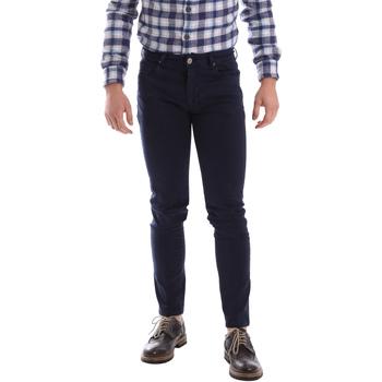 Textiel Heren 5 zakken broeken Sei3sei 02696 Blauw