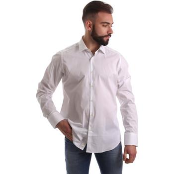 Textiel Heren Overhemden lange mouwen Gmf 962250/03 Wit