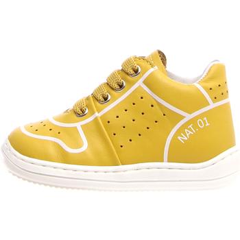 Schoenen Kinderen Hoge sneakers Naturino 2013460-01-0G04 Geel