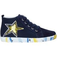 Schoenen Jongens Hoge sneakers Falcotto 2013554-01-1C49 Blauw